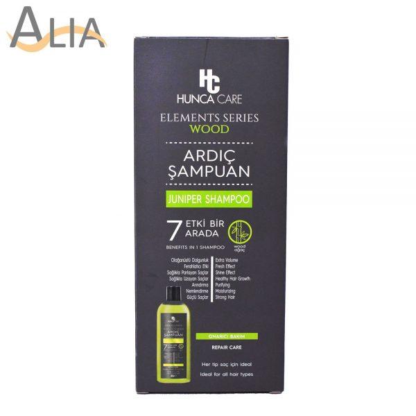 Hunca care elements series wood juniper shampoo 1
