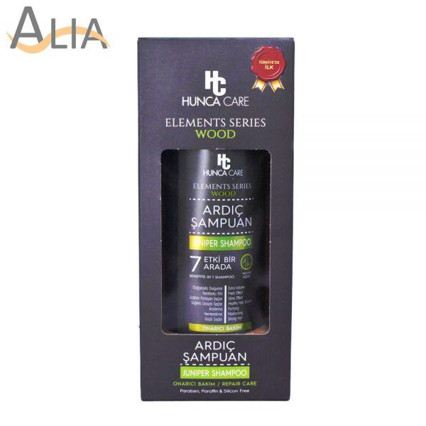 Hunca care elements series wood juniper shampoo (500g)