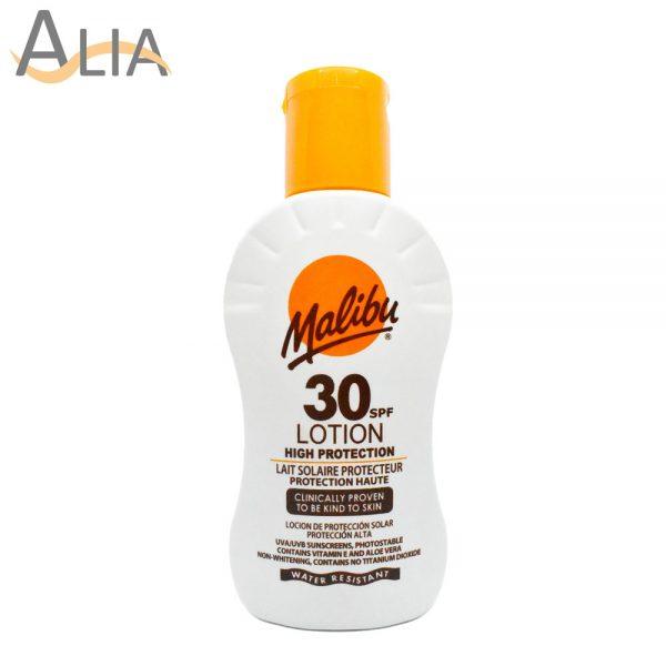 Malibu 30 spf high protection lotion (100ml)