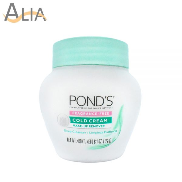 Ponds cold cream makeup remover (172 g)
