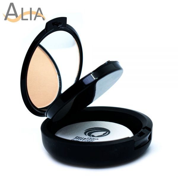 Silly 18 dual cake wet & dry compact powder color natural..