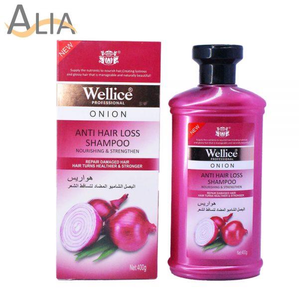 Wellice proffessional onion anti hair loss shampoo (400g)