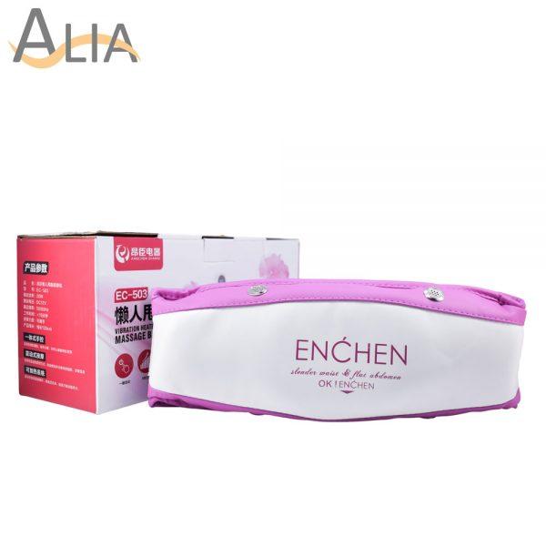 Angchen dianqi enchen vibration heating slimming massage belt.