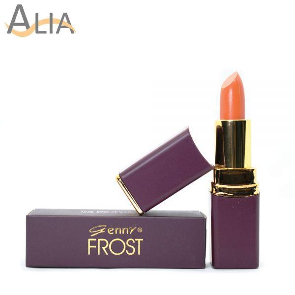 Genny frost lipstick shade no.74 (soft orange)