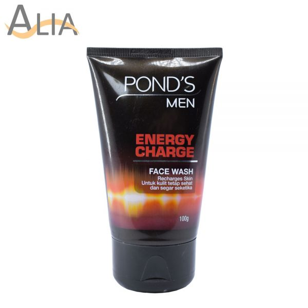 Pond's men energy charge face wash recharges skin (100g)