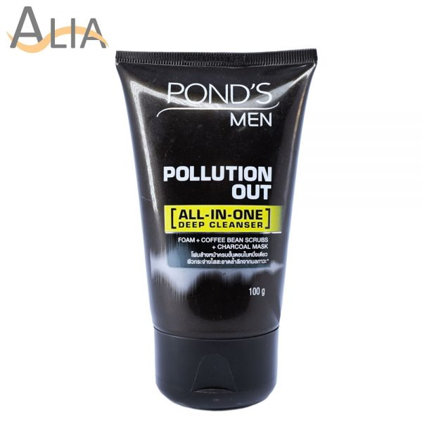 Pond's men pollution out all in one deep cleanser 100g
