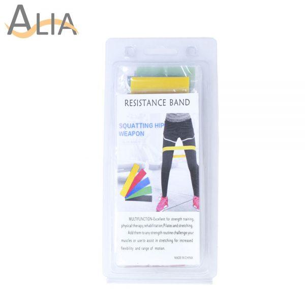 Resistance band squatting hip weapon 5 colors
