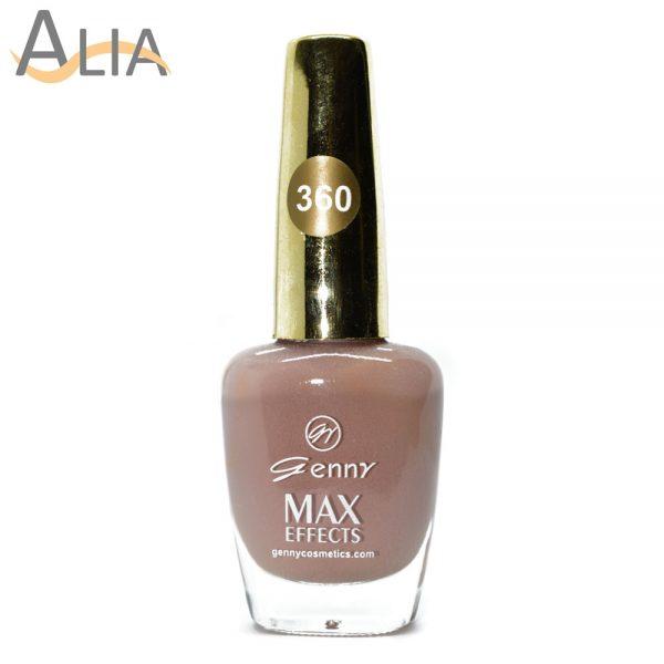 Genny nail polish (360) nude color