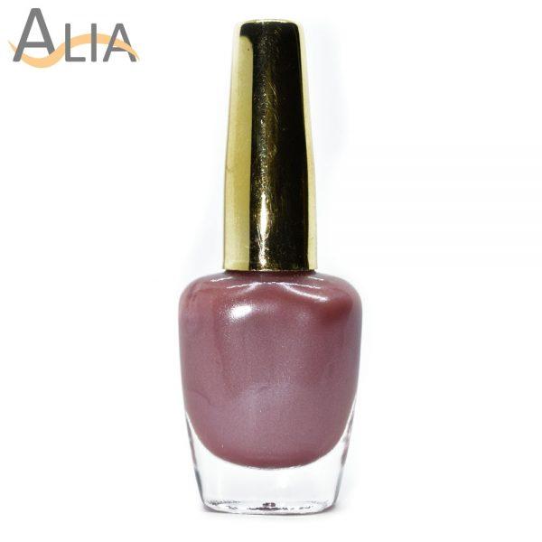 Genny nail polish (373) pearl nude color.