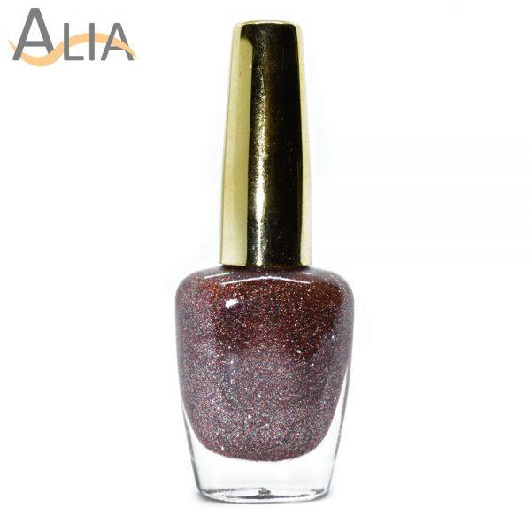 Genny nail polish (506) mix glitter color.
