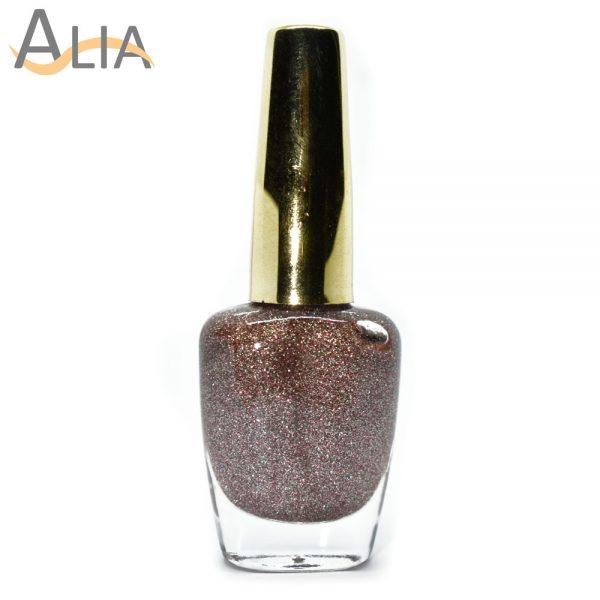Genny nail polish (513) confetti glitter color.