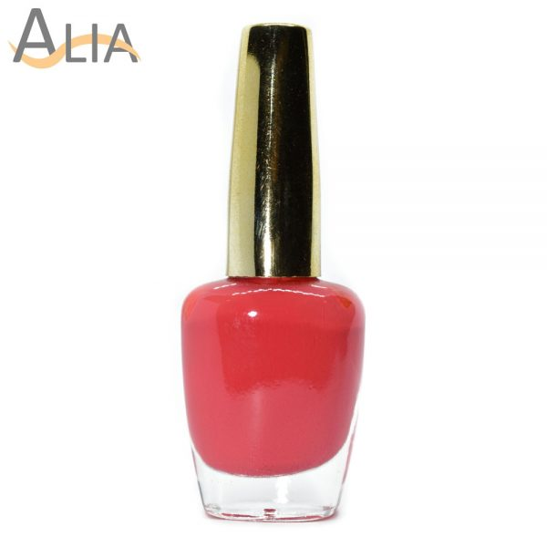 Genny nail polish max effects (221) light pink color.