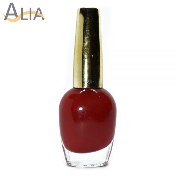 Genny nail polish max effects (333) maroon color.