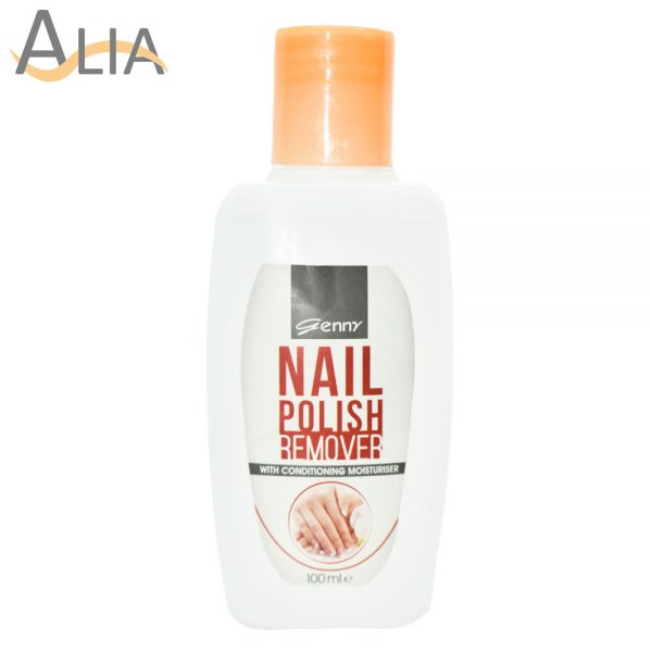 Genny nail polish remover with conditioning moisturiser (100ml)