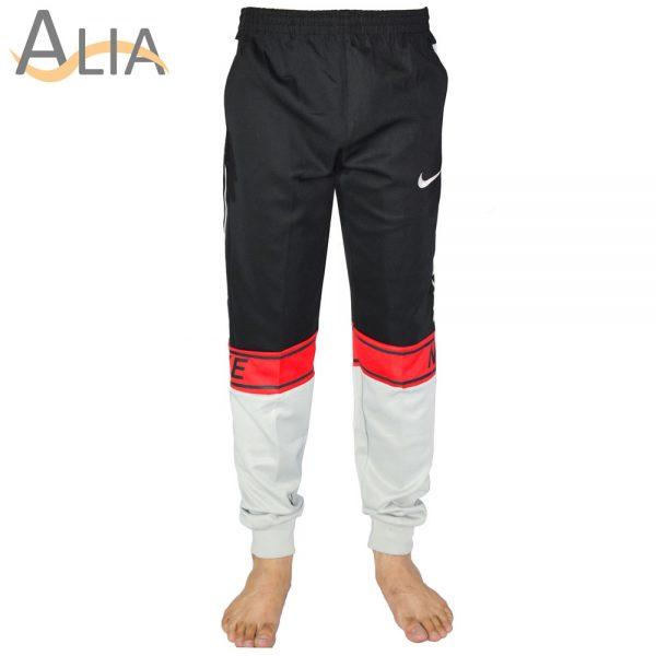 Nike joggers black & white color.