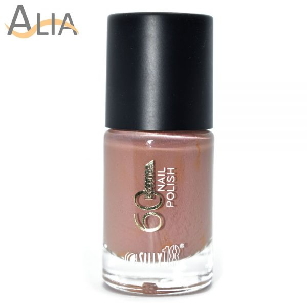Silly18 60 seconds nail polish 03 nude color color