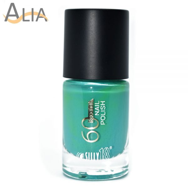 Silly18 60 seconds nail polish 23 turquoise color