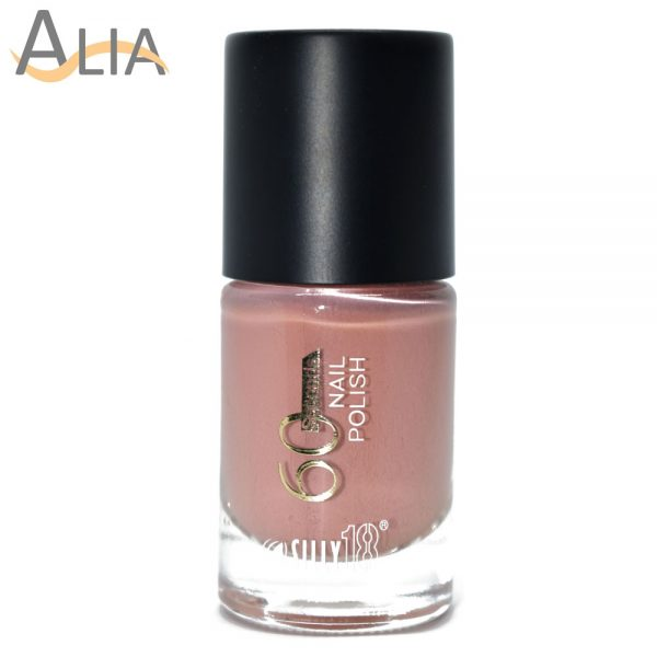 Silly18 60 seconds nail polish 33 pinky nude color
