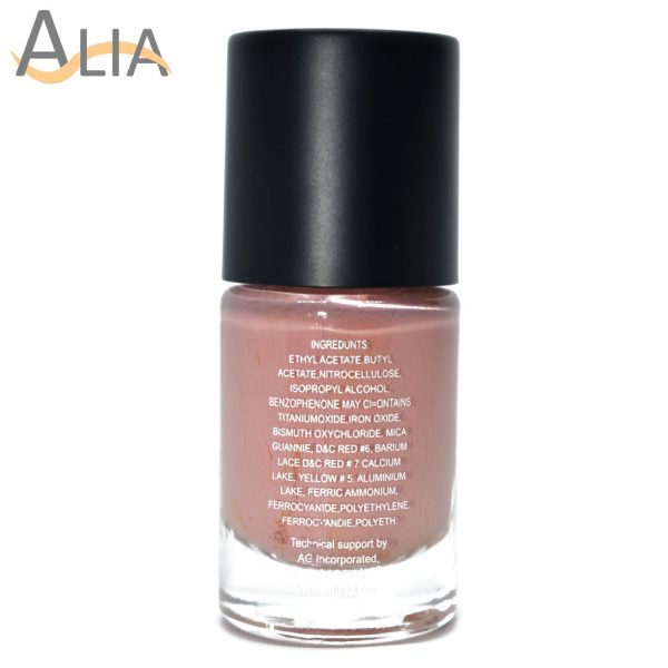 Silly18 60 seconds nail polish 33 pinky nude color.