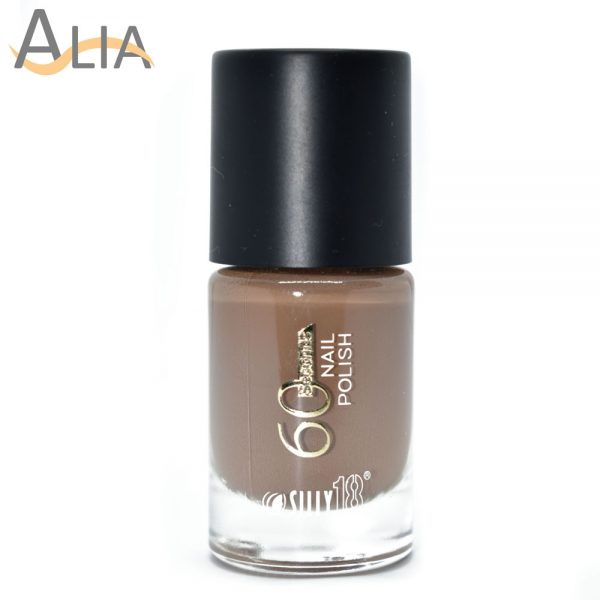Silly18 60 seconds nail polish 35 clay color