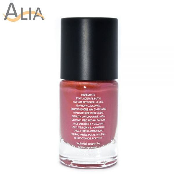 Silly18 60 seconds nail polish 36 pink color .