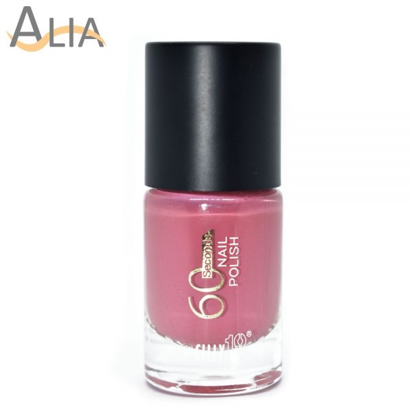 Silly18 60 seconds nail polish 36 pink color