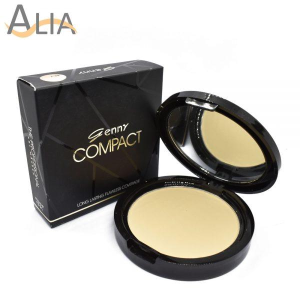 Genny compact powder shade natural 1