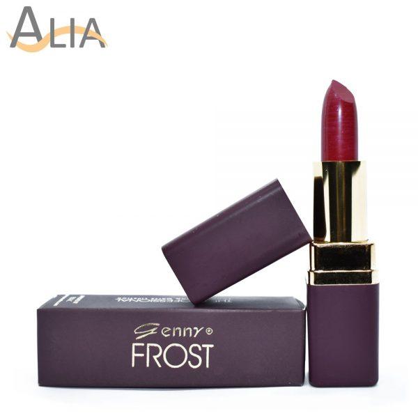 Genny frost lipstick shade 363 shimmery dark pink