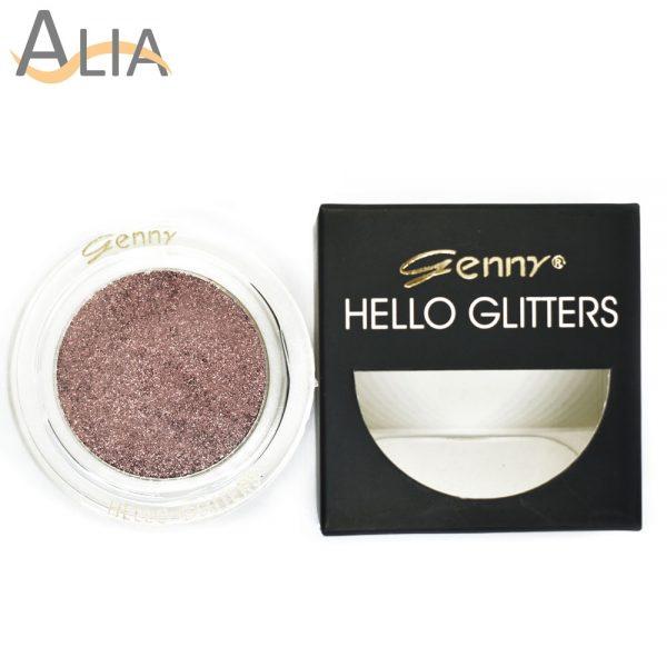 Genny hello glitters eye shadow shade 02 rose gold