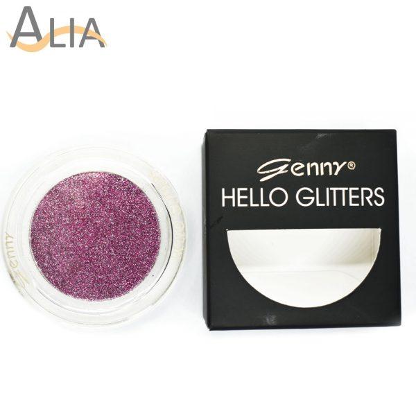 Genny hello glitters eye shadow shade 05 purple