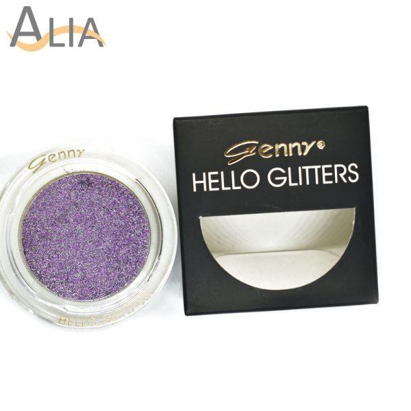 Genny hello glitters eye shadow shade 07 violet.