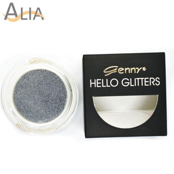 Genny hello glitters eye shadow shade 09 silver
