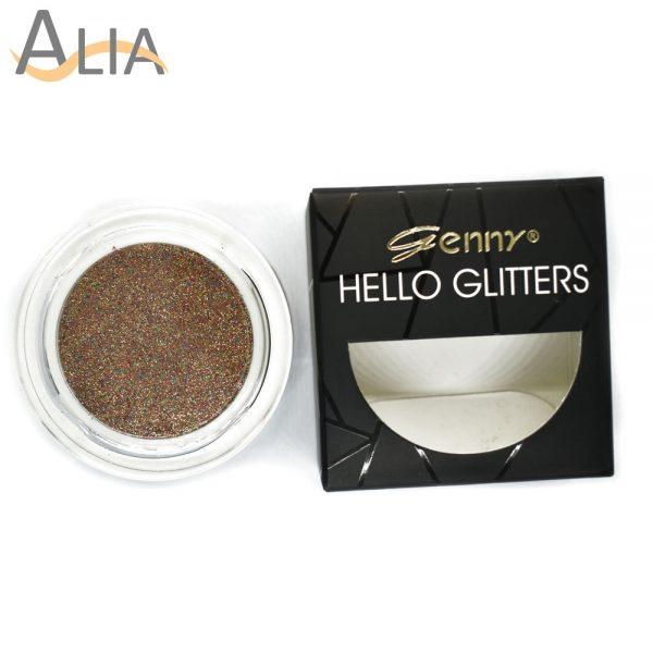 Genny hello glitters eye shadow shade 17 mix color