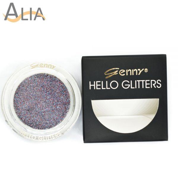 Genny hello glitters eye shadow shade 18 purple mix