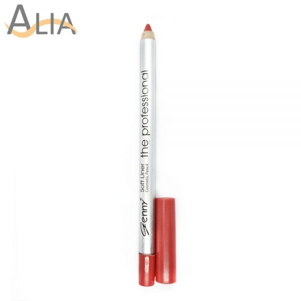 Genny soft liner cosmetic pencil shade 06 dark peach