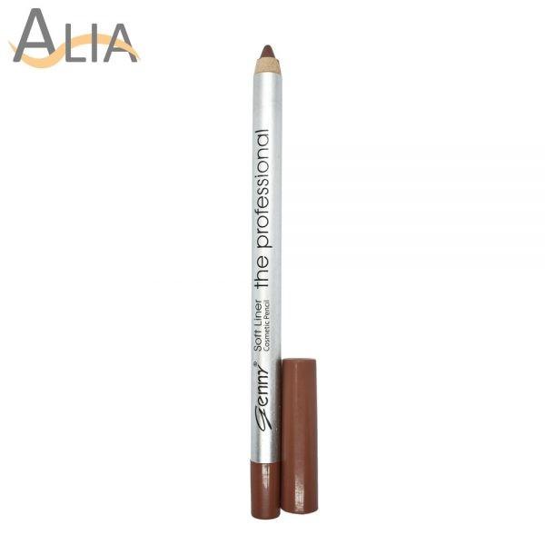 Genny soft liner cosmetic pencil shade 09 dark nude