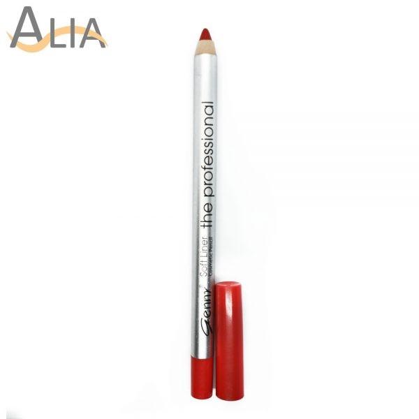 Genny soft liner cosmetic pencil shade 18 dark orange