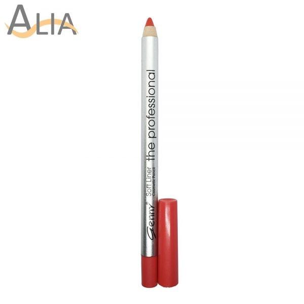 Genny soft liner cosmetic pencil shade 19 orangish pink