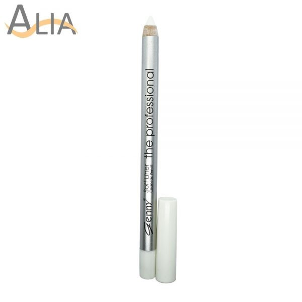 Genny soft liner cosmetic pencil shade 21 white