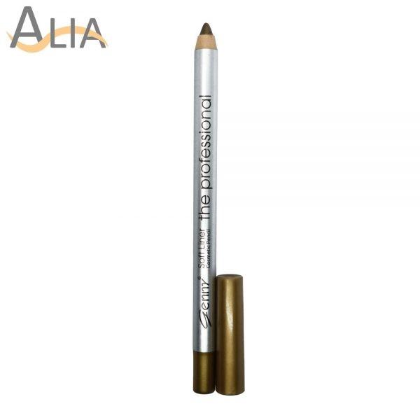 Genny soft liner cosmetic pencil shade 28 metallic green