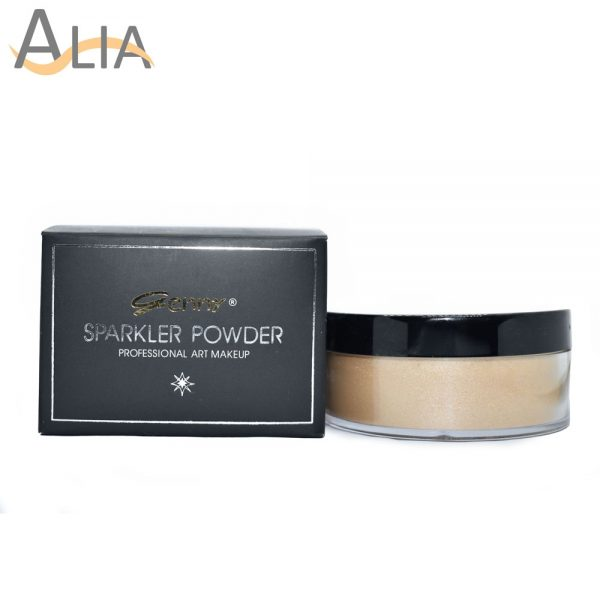 Genny sparkler powder professional art makeup shade 03