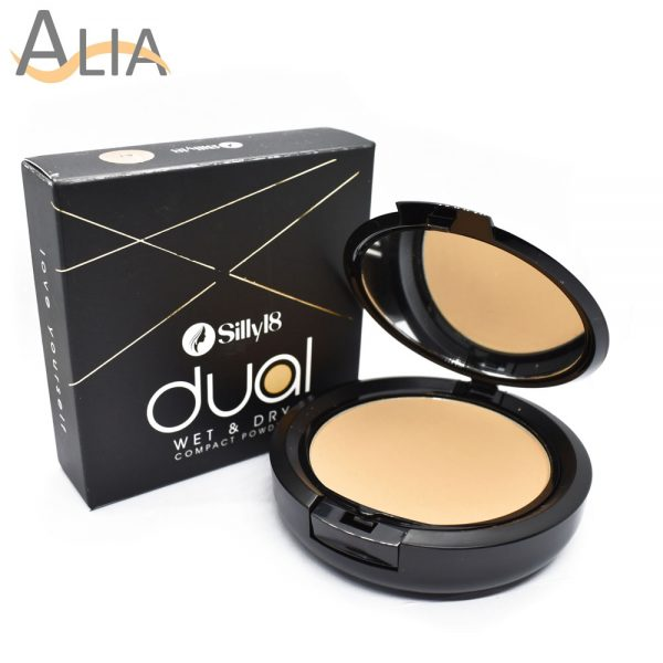 Silly18 dual wet & dry compact powder (be 2)